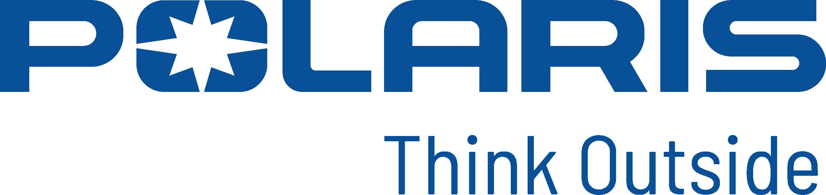Polaris logo Tagline Blue